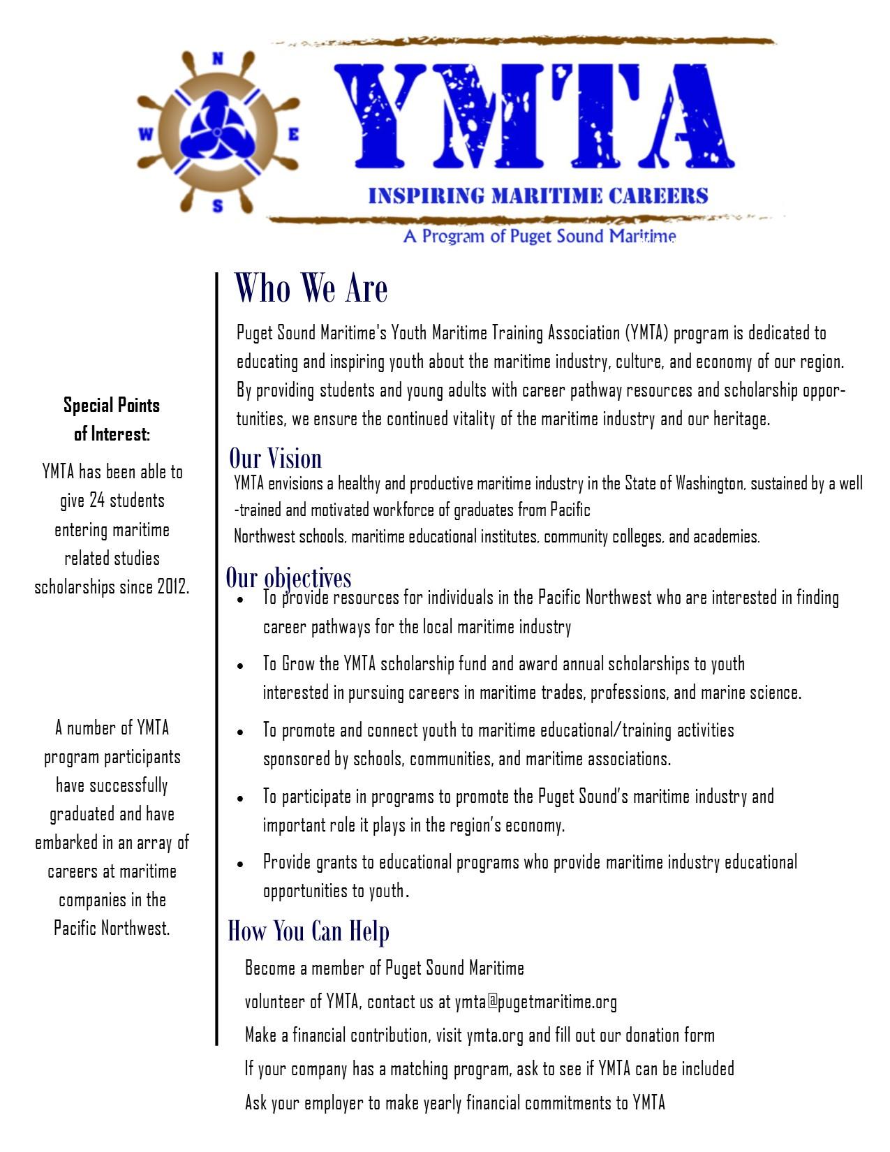 YMTA info sheet